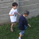 boisterous 5 year old boy